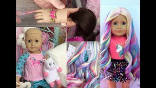 American Girl Unicorn Doll~Fixing Up A Retired AG Doll!