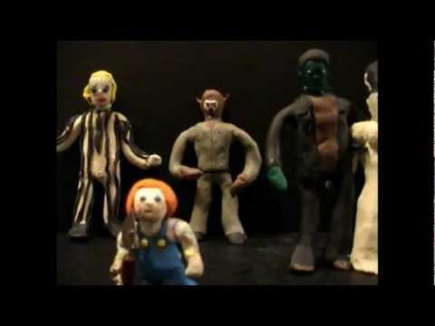 horror-movie-heroes---freddy,-pinhead,-vampira,-frankenstien,-chucky,-wolfman