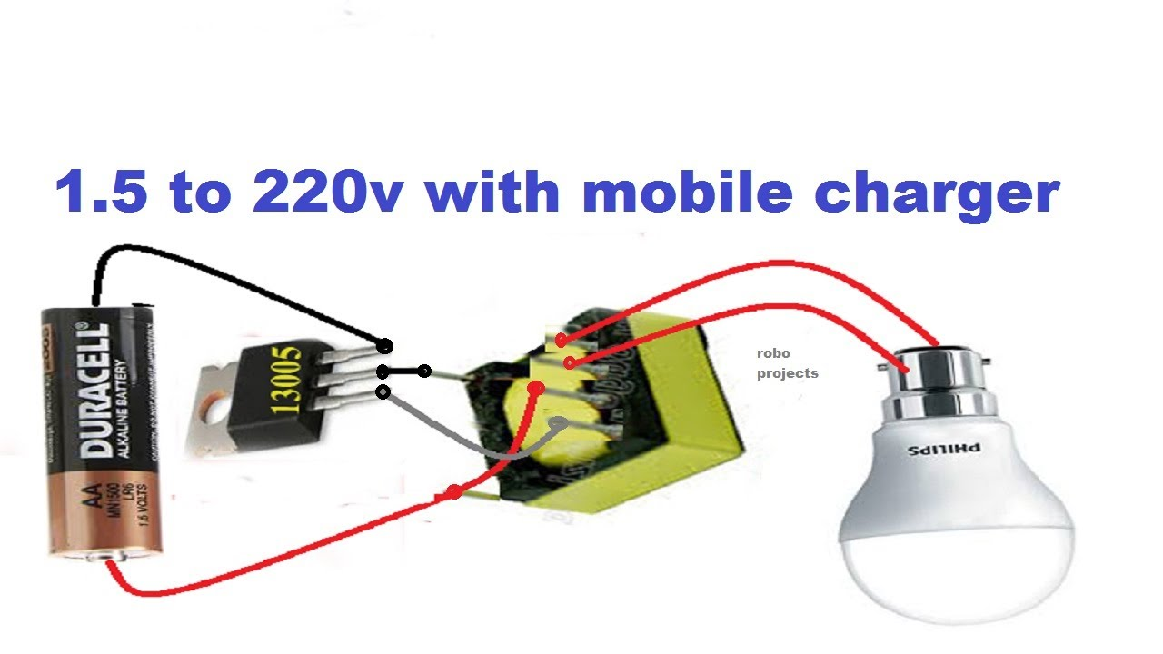 How To Make 3v Dc To 220v Ac Mini Inverter
