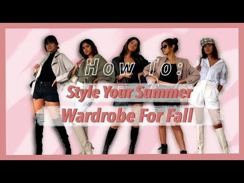 How To Transition Your Summer Clothes Into Fall Outfits!!