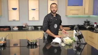 بيض بالسبانخ-فاصوليا بيضاء بالطماطم-قرنبيط مقلي#مطبخ_101 #وسام_مسعود