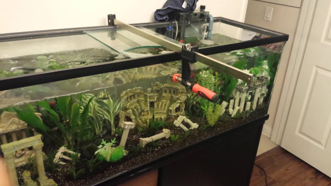 75 Gallon Aquarium Center Brace 1000 Aquarium Ideas