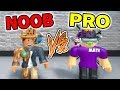 REAL *PRO* plays Flood Escape 2 with ME... and I get DESTROYED!! (Roblox)