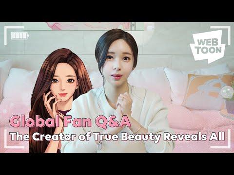 The Creator of True Beauty Reveals All | WEBTOON Global Q&A