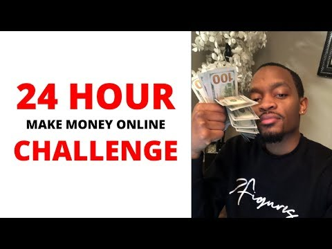 24 HOUR Make Money Online CHALLENGE! (MaxBounty Edition) thumbnail