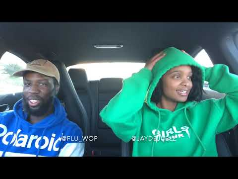 Nicki Minaj Bust Down Barbiana Reaction w Flu Wop #CarChronicles