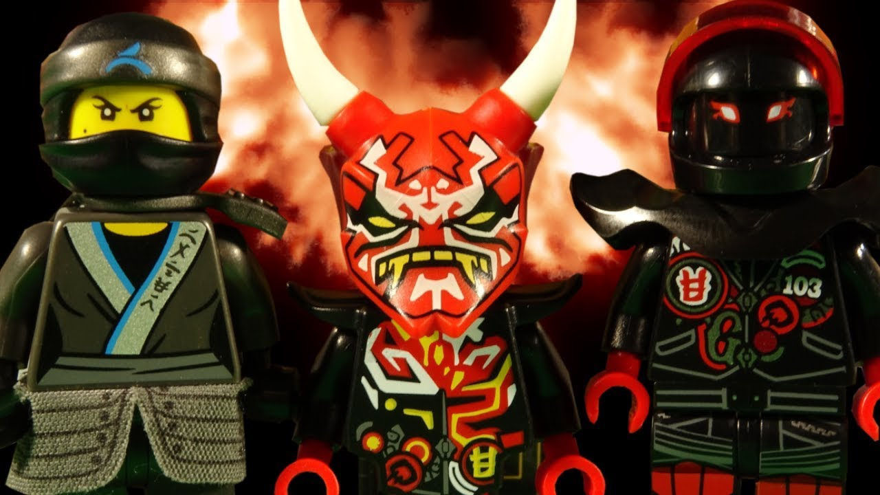 Lego Ninjago Sons Of Garmadon Battle For The Oni Mask Of