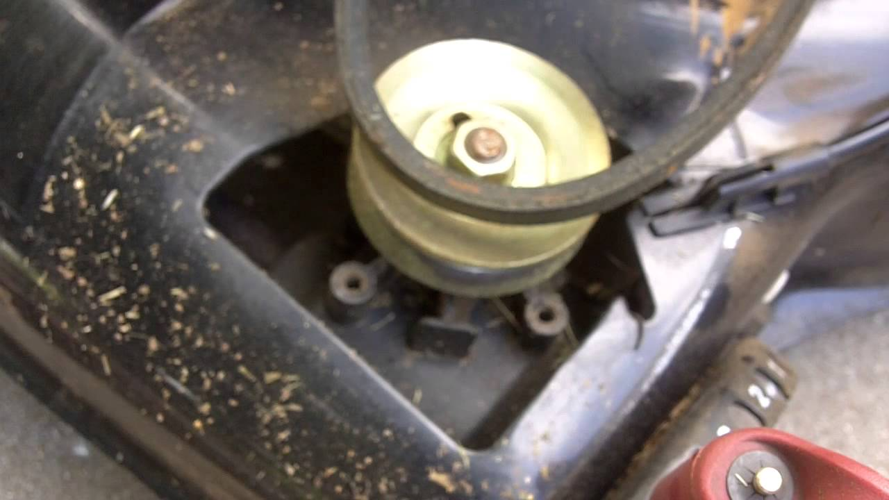 How To Replace The Belt On A Craftsman Front Wheel Drive Self Propelled Lawnmower