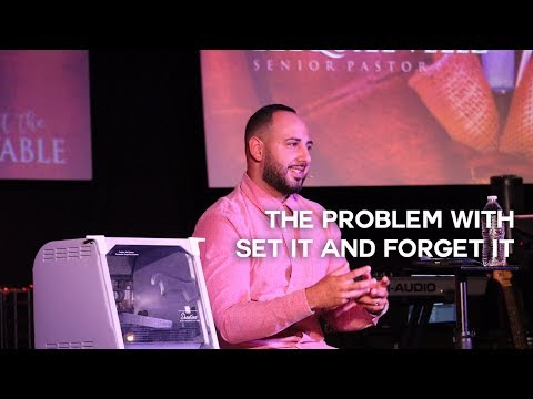 THE PROBLEM WITH SET IT AND FORGET IT