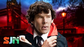 Sherlock Team Sink Teeth Into Dracula!