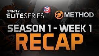 Method - Gfinity Elite Series: Season 1 - Week 1 - Recap - SFV, CS:GO & Rocket League