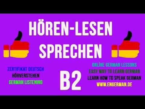 German Listening B2 | Hörverstehen B2 | #7