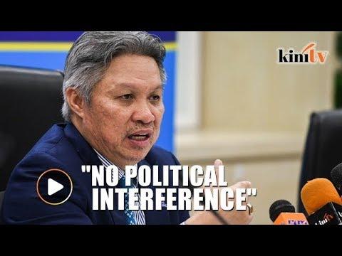 'Raid on Mahathir's sons' companies not politically motivated'