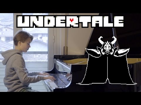 Undertale OST - Bergentrückung + ASGORE (Piano Cover)