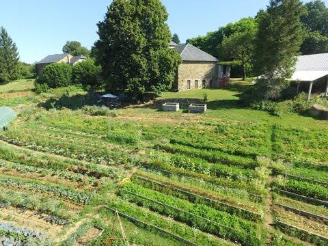 Micro ferme en Permaculture - 2 mai 2017 - Les Jardins de Pan