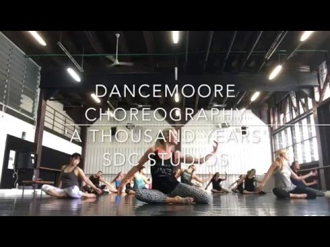 'A Thousand Years' (The Piano Guys) By DanceMoore Choreography