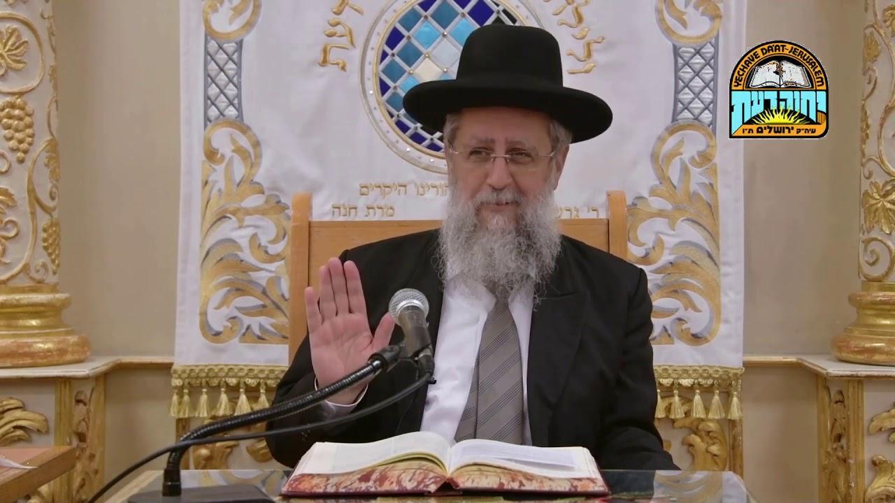 הרב דוד יוסף - מעשה בקונסול | פתיחת וסגירת מקרר בשבת כשהנורה דולקת