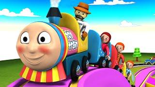 Thomas The Train Cartoon for Children - Educational Cartoon Videos for Kids