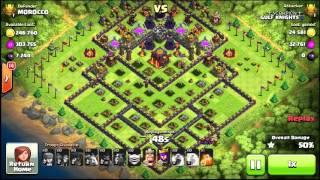 ( GULF KNIGHTS ) clash of clans / Scorpion / ATTACK