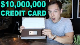 Unboxing The $10 Million Dollar Invite-Only Credit Card: The...