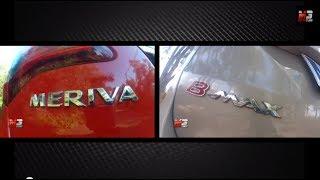 2014 ford b-max vs opel meriva - test drive