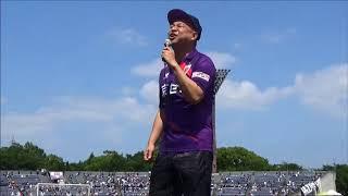 2018年6月9日(土)、松本山雅FC戦にレイザーラモンRGさんが登場!2年ぶ...