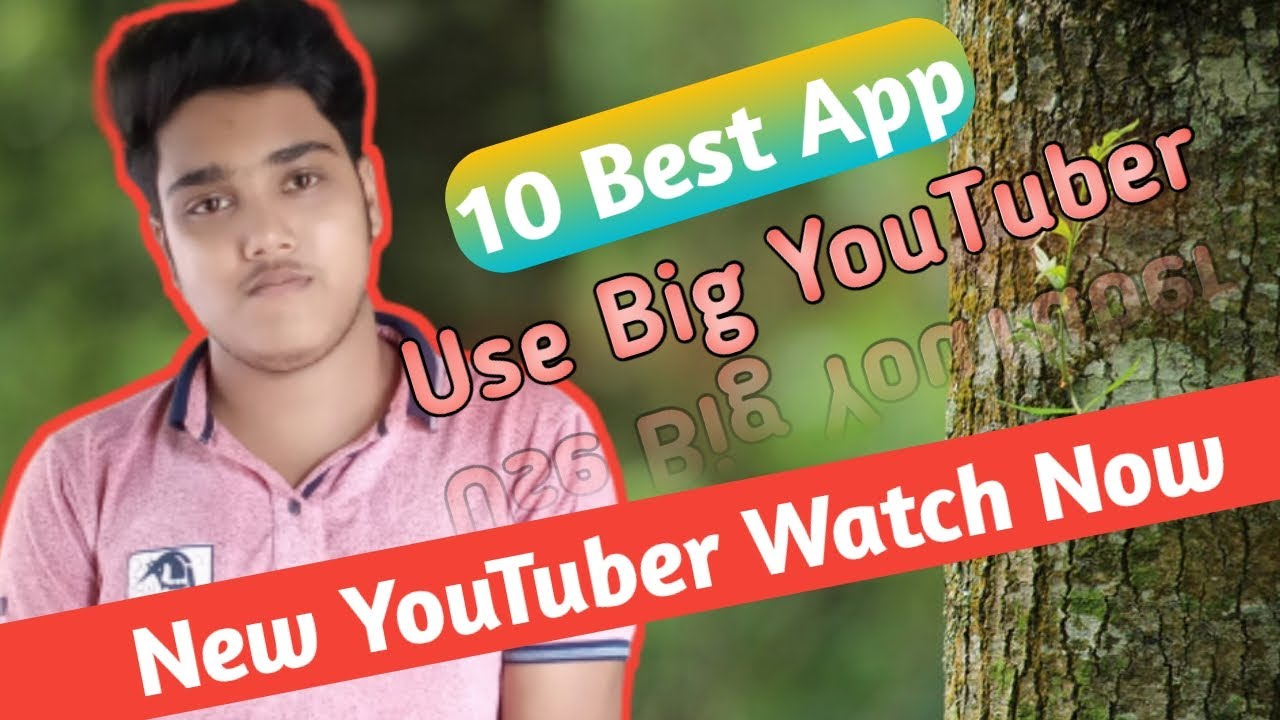 10 Best Android app use YouTuber || YouTube video making best apk.