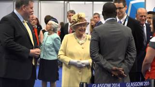 The Queen and The Duke of Edinburgh visit Glasgow