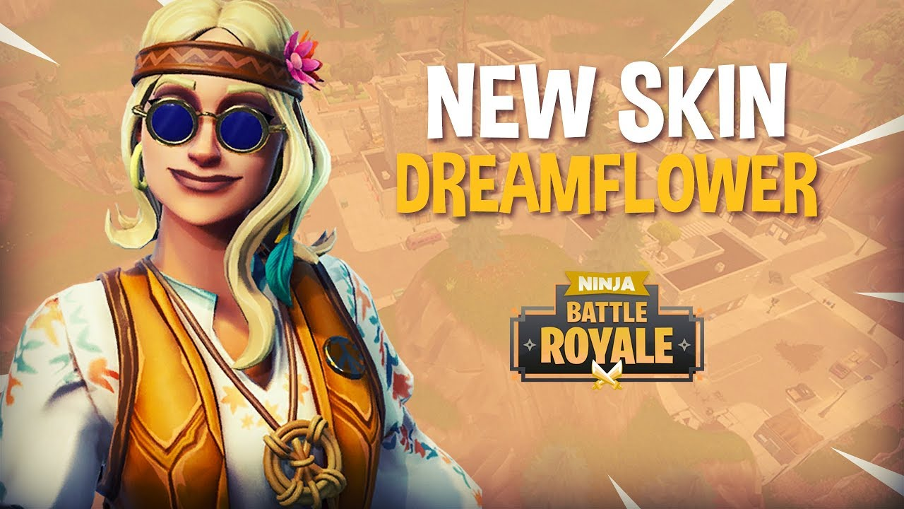 New Dreamflower Skin Fortnite Battle Royale Gameplay Ninja