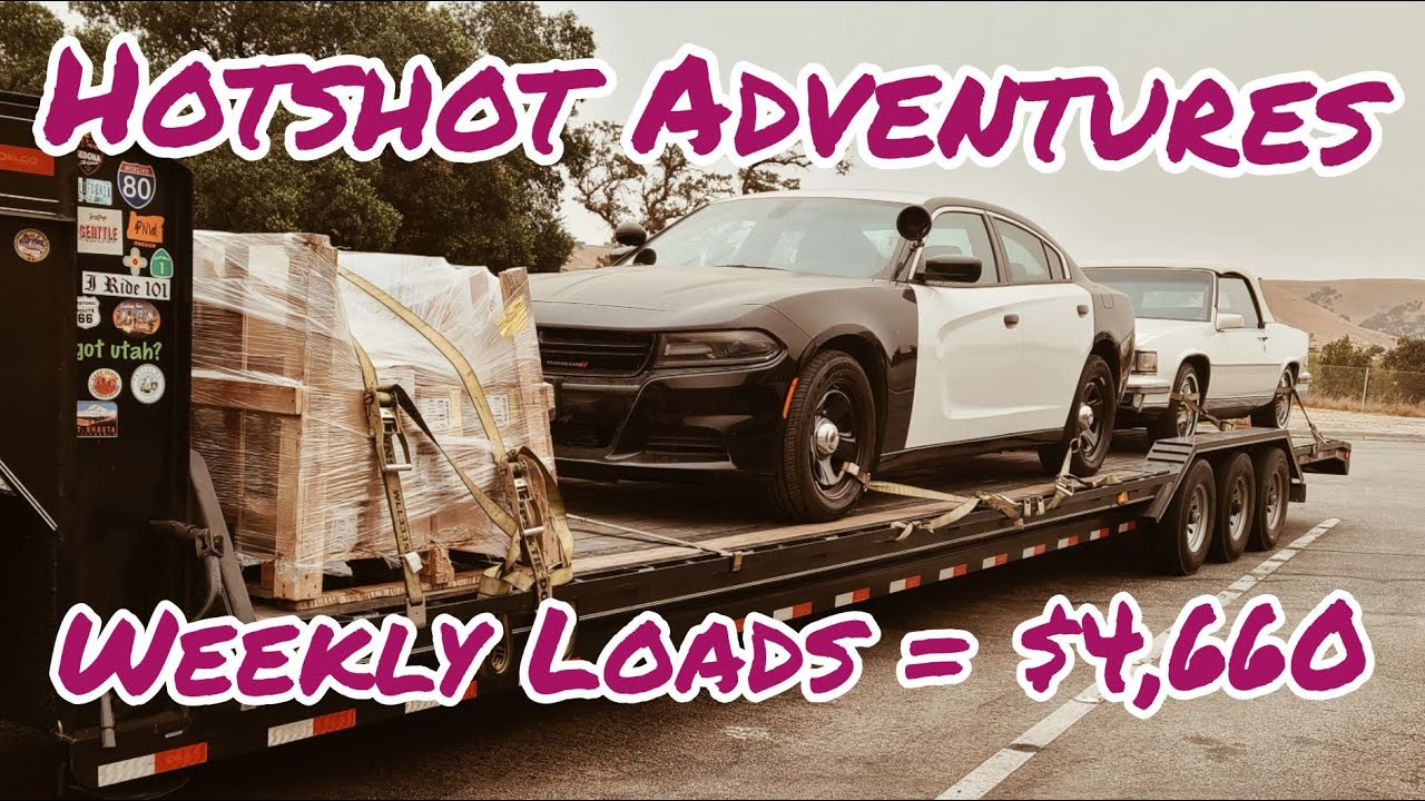 Check out my Hotshot Loads for Week 37, Sept 8-11
