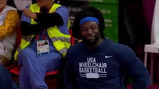 Men's Wheelchair Basketball (USA vs BRA) | Parapan American Games Lima 2019