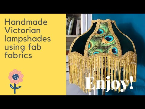 Victorian style lampshades