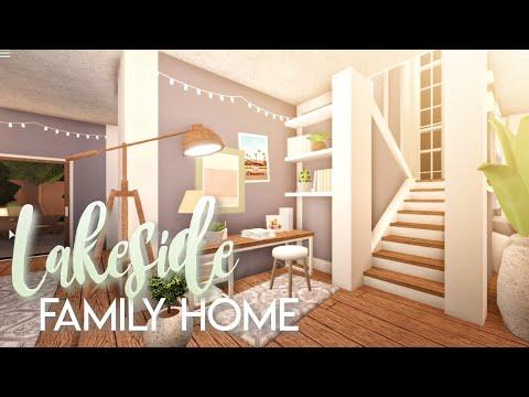BLOXBURG| Lakeside Family Home | House Build