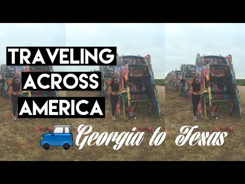 Let's Get Away: TRAVELING ACROSS AMERICA | Georgia to Texas