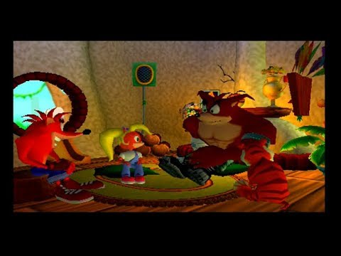 Crash Bandicoot The Wrath Of Cortex PS2 Cutscenes