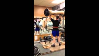 House Of Muscle - Strongman Training - Log and Farmers March 2015
