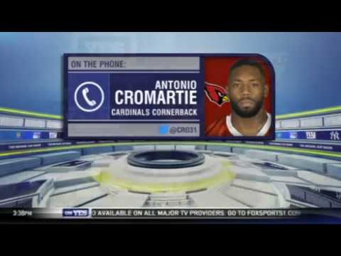 Antonio Cromartie challenges Florida State players after loss