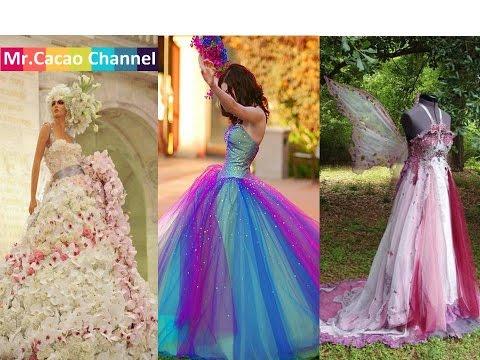 Chuyện lạ đó đây _ Những chiếc váy cưới sốc,độc,lạ lùng nhất thế giới