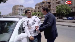 وش تانى - مشهد كوميدى بين كريم عبد العزيز والكوميديان أحمد فتحى .. الفرق بين طبق الفول والكباب