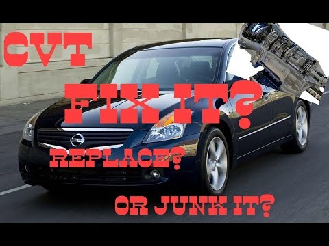 Should you fix, replace or Junk your CVT Transmission? - YouTube