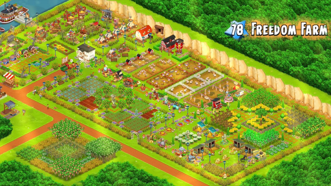 how to play farm town hay day