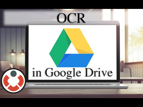 OCR - Google Drive Tutorial
