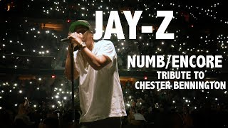 Jay-Z - Tribute to Chester Bennington - Numb / Encore - 4:44 Tour 2017