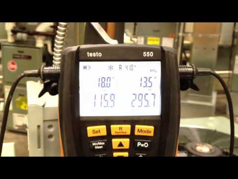 Testo 550 features overview II