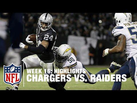Chargers vs. Raiders   Week 16 Highlights   NFL