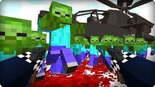 Адское место [ЧАСТЬ 26] Зомби апокалипсис в майнкрафт! - (Minecraft - Сериал)