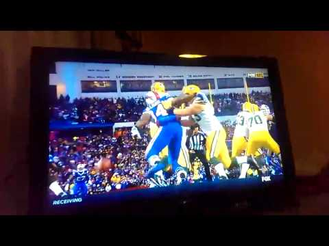 Bills Beat Packers! Final Play! (Mario Williams Aaron Rodgers)
