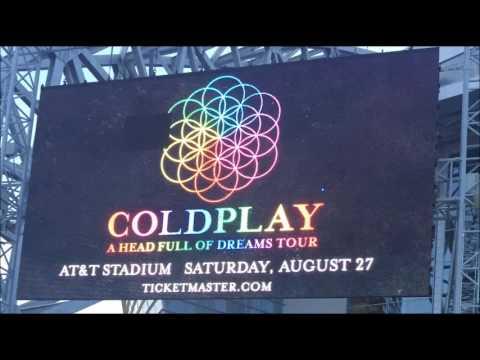 Coldplay - AUDIO - Live in Dallas 8/27/2016