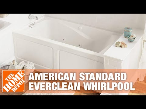 American Standard EverClean Whirlpool | The Home Depot