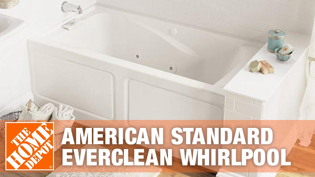 American Standard EverClean Whirlpool - The Home Depot - YouTube